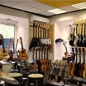Музыкальные магазины Каминского
